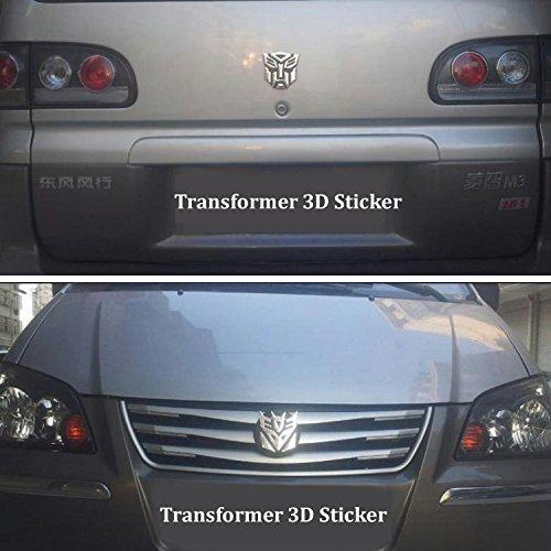 Dodolive Auto Dekoration Transformers Aufkleber Logo Metall