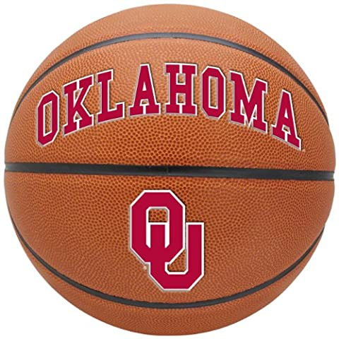 NCAA Oklahoma Sooners Triple Threat Full Size Basketball by Rawlings