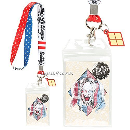 DC Comics Suicide Squad Daddy Lil Monster Harley Quinn Lanyard ID Card Holder by DC Comics (Monster Lanyards)