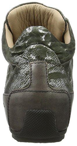 Candice Cooper Metal Parker, Sneaker a Collo Alto Donna Grün (Muschio)