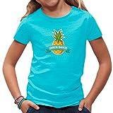 Fun Kinder T-Shirt - Disch Dasch Shirt als Geschenk by Im-Shirt - Azurblau Kinder 3-4 Jahre