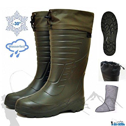 Eva thermo stivali -30°c + feltro interno scarpa caccia angel angler thermo winter–stivali angler angel stivali da caccia, 47