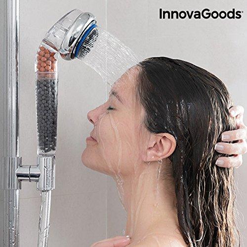 InnovaGoods IG117292 Ecoducha Multifunción, Transparente