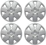 "Set Of 4 Universal Fit 14"" Car Wheel Trims, 14 Inch Fitment Hub Caps"