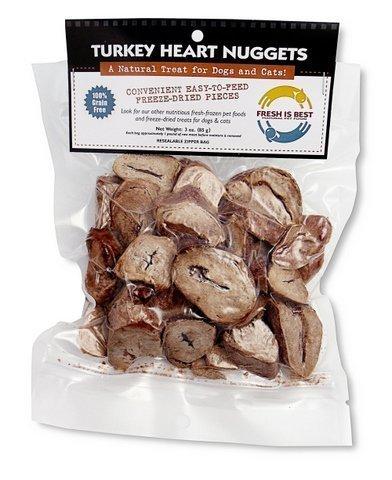 Fresh Is Best Turquía liofilizado cree corazón