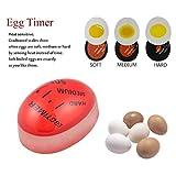 Timer per cambiare colore dell'uovo. Uova sode morbide e sode LUFA