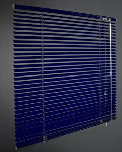 alu jalousie faltstore lamelle rollo jalousette blau 90x240cm breite x h he k che. Black Bedroom Furniture Sets. Home Design Ideas