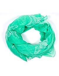 écharpe tube foulard femme imprimé étoiles en plusieurs couleurs