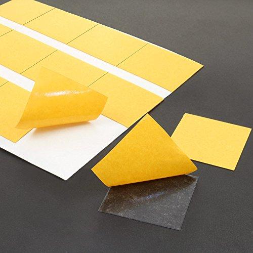 Klebepunkte doppelseitig   Quadratisch   30 x 30 mm   Transparent   20 Stück -