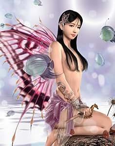 """""""Fairy Fantasy nymphes"""" eau de broderie au point de croix Motif toise"""