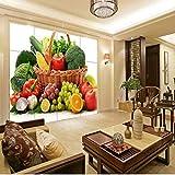 Zybnb Fototapete Gemüse Obst Tv Wände Restaurant Tapete Wohnzimmer Schlafzimmer Tapete Hochwertige Wandbild-280X200Cm