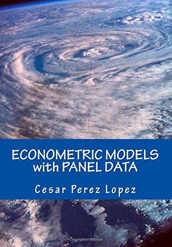 ECONOMETRIC MODELS with PANEL DATA