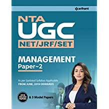 NTA UGC (NET/JRF/SET)  Management 2019