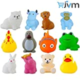 #10: Chu chu Bath toys Multi-color (1 Set - 12 Pcs)