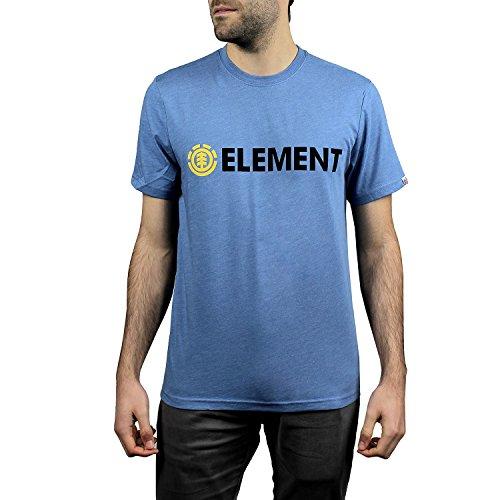 Element Herren Blazin Ss Shirt und Hemd niagara heather
