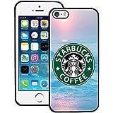 Iphone 5 5s SE Funda Case Starbucks , Starbucks Logo Funda Case, Ultra Thin Apple Iphone 5 5s Hard Back Funda Case Cover, Starbucks Phone Cover Cool Pattern