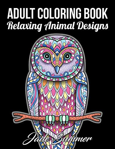 Adult Coloring Book 50 Relaxing Animal Designs With Mandala Inspired Patterns For Stress Relief Read Online