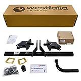 Westfalia Starre Anhängerkupplung für A-Klasse W176 (ab BJ 09/12), B-Klasse W246 (ab BJ 11/11) und CLA C117 (ab BJ 04/13) im Set mit 13-poligem fzg.-spez Elektrosatz