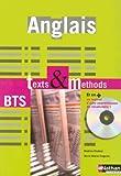 Anglais BTS Texts et Methods (1Cédérom)