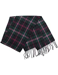 Mens Tartan Winter Scarf