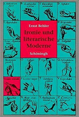 Ironie und literarische Moderne