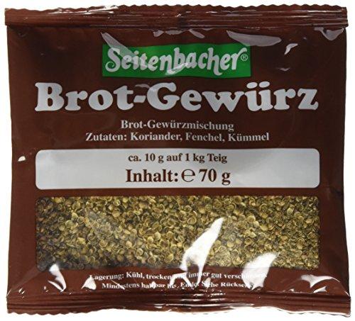 Seitenbacher Brotgewürz, 6x70g (Aromen Lebensmittel Gemischten)