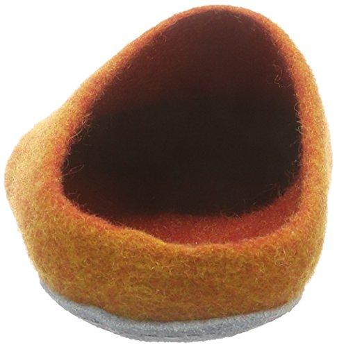 MagicFelt Ap 701, Pantoufles non doublées mixte adulte Orange  - Orange (orange 4807)