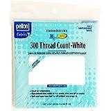 Pellon Baumwolle Fadenzahl 300Baumwolle Stoff für Embroidery-White 20x 24
