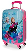 Disney Frozen 4191461 Valigia Per Bambini, 55 Centimetri, 33 Litri, Multicolore, Elsa, Anna