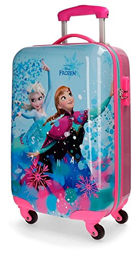 Disney Frozen 4191461 Equipaje infantil, Maleta 55 Centímetros, 33 Litros, Multicolor, Elsa,...