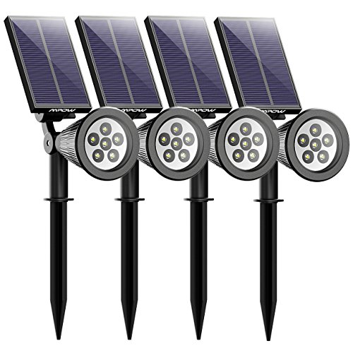 Pack de 4 lámparas solares con dos modos de iluminación de MPOW