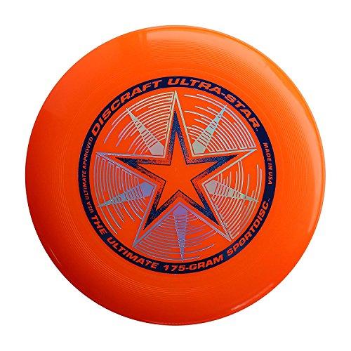 Discraft - Frisbee Ultrastar, 175 g, Arancione