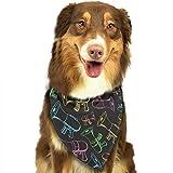 Hipiyoled Lautsprecher-Muster-Mode-Hundebandanas-Lätzchen-Schals-Haustier-Schals-Katzen-Hundeschal