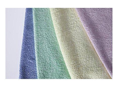 Pack de 2Premium microfibra toalla 40x 40cm Para Bajo Precio 1x amarillo + 1x Verde