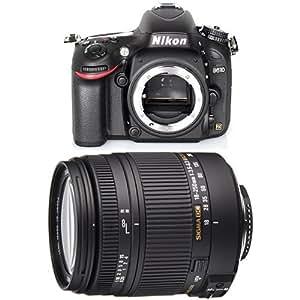 Nikon D610 SLR-Digitalkamera Gehäuse schwarz + Sigma 18-250 mm Objektiv
