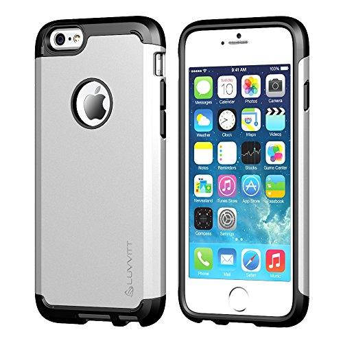 luvvitt [Ultra Armor], Case Best Heavy Duty Dual Layer Tough Cover für Apple iPhone 6/iPhone 6S (4.7) (Luvvitt Ultra Armor Iphone 6 Plus)