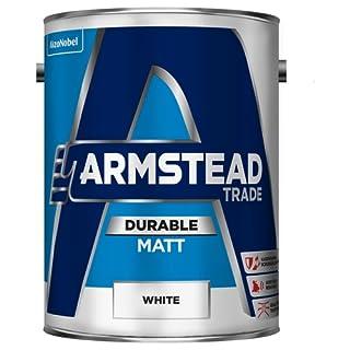Armstead Trade Durable Matt White 5 Litres