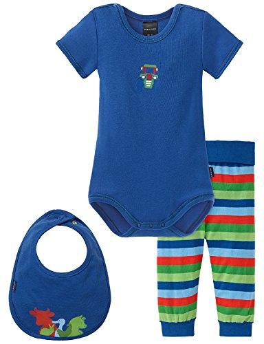 Schiesser Baby - Jungen Unterwäsche-Set Baby Set Jungs, 3er Pack, Gr. 86, Mehrfarbig (sortiert 1 - Traktor Unterwäsche Jungen