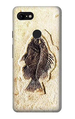 Innovedesire Fossil Fish Hülle Schutzhülle Taschen für Google Pixel 3 XL