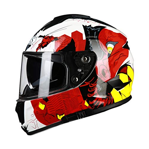 Adult Full Face Matte Schwarz Motocross Helme Anti Crash Downhill Offroad Motorradrennen Sicherheit Schutzkappen für alle Jahreszeiten - Helm Fahrrad Mohawk