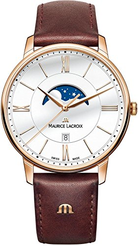 Mens Maurice Lacroix Eliros Moonphase Watch EL1108-PVP01-112-1