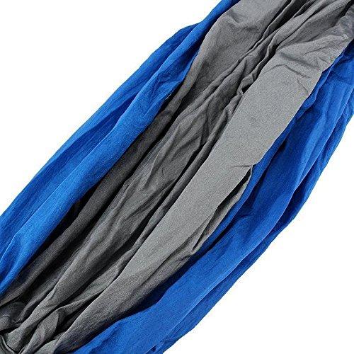 HQS® Genießen Sie den tragbaren Parachute Nylongewebe -Reisen Camping Hammock Für Doppel Zwei - 4