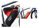 BikersOwn Case4rain Powerpack 300/400 Rahmen-Akkuschutz Kettenschützer, schwarz-Orange, One Size