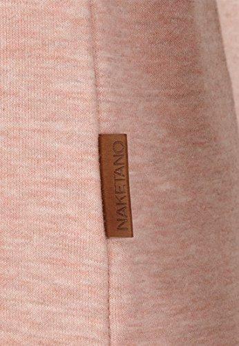 Naketano Female Hoody Schmierlappen IX Pastel Pink Melange