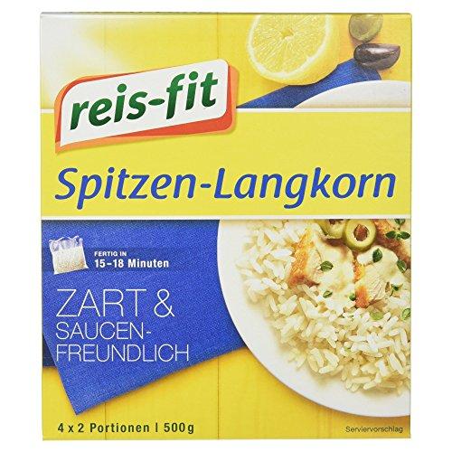 (Reis-Fit Spitzen-Langkorn Reis im Kochbeutel, 4 Beutel 500 g)
