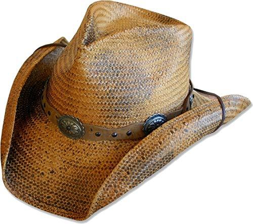 (STARS & STRIPES Strohhut Westernhut Cowboyhut »RED Rock« Gr.XXL)