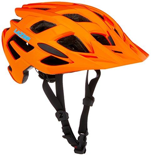 Lazer Ultrax + ATS Fahrradhelm, Flash Orange, S