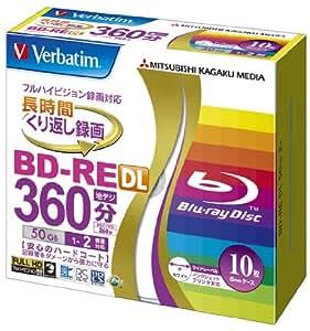 Verbatim Bluray 50 GB BD-RE DL RW 2x Speed Inkjet Printable Rewritable, 1 Pcs Price