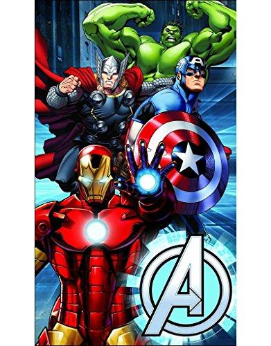 Avengers-Los-Vengadores-Toalla-de-baoplaya-de-75-x-150-cm-Diseo-metlico