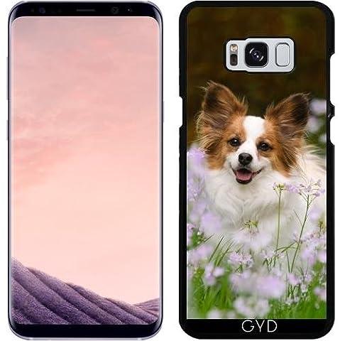 Hülle für Samsung Galaxy S8 Plus - Papillon Hund Niedlich Porträt by Katho Menden